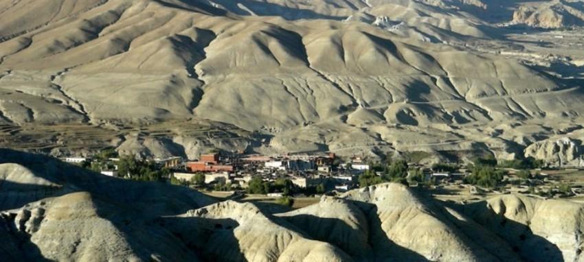 Haut Mustang Lomanthang Trekking au N