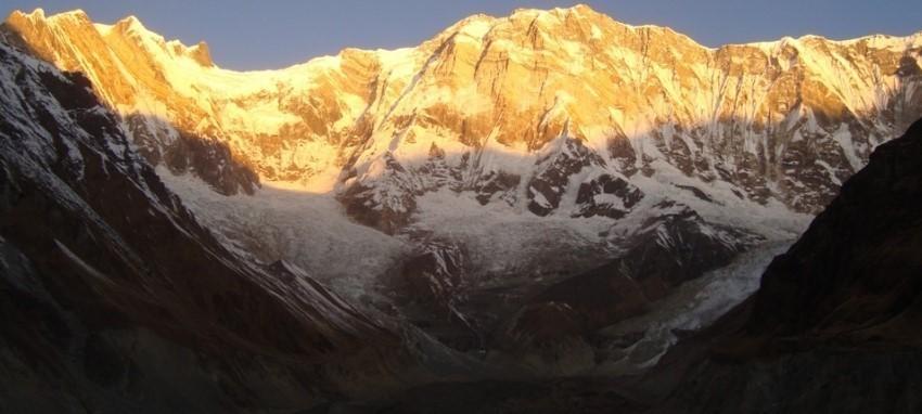 Randonnée au camp de base de l'Annapurna - Vue de l'Annapurna Base Camp Trek