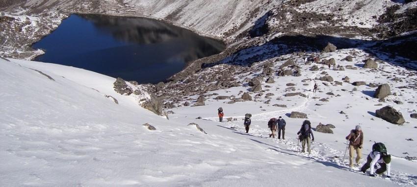 Trek du lac de Saint Gosaikunda - Gosaikunda Saint lac Trek