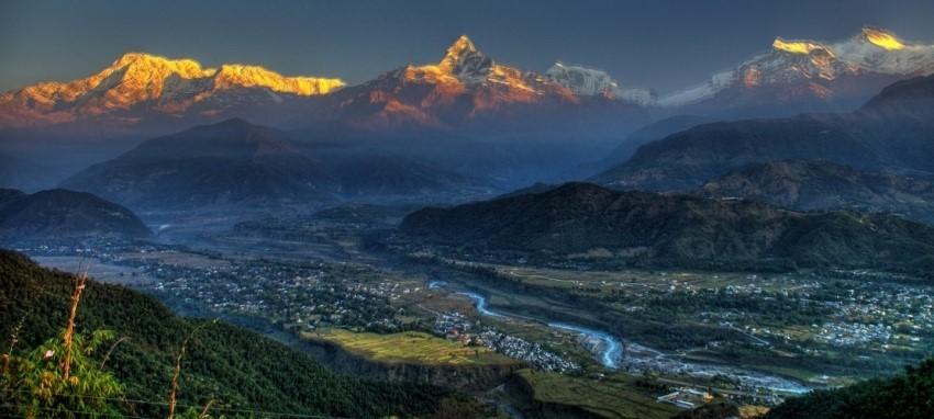 Pokhara excursion d'une journ