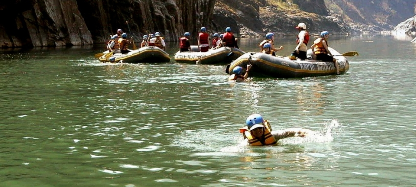 Rafting aventure de Trishuli - Rafting au N