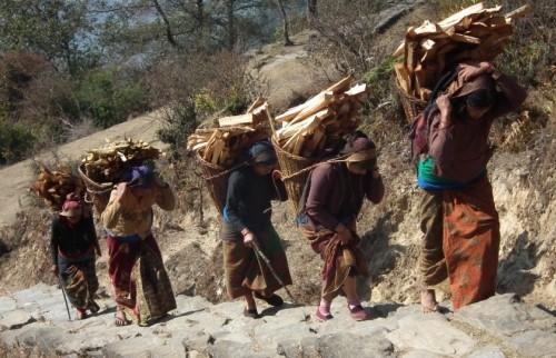 Visite du village de Balthali