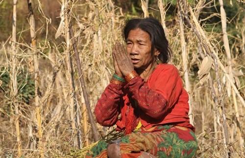 Visite du village de Chepang