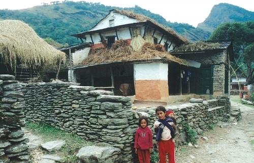 Visite du village de Daman