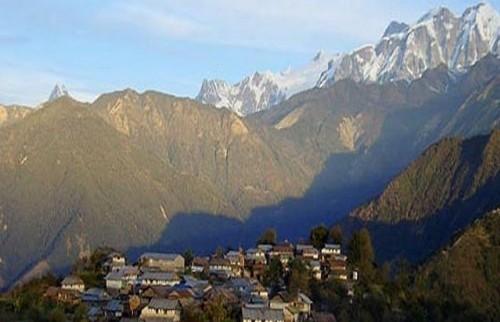 Visite du village de Ghalegaun