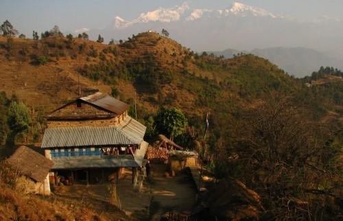 Visite du village de Gorkha