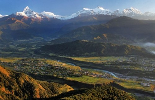 Randonnée d'une journée à Sarangkot (1,610m)
