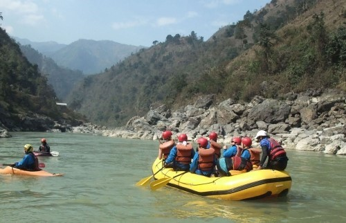 Rafting aventure de Trishuli