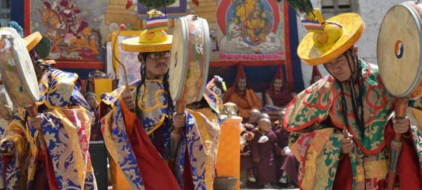 Поход на фестиваль Тиджи, 2016 г. - Поход на фестиваль Тиджи (Ло-Мантханг, Непал)