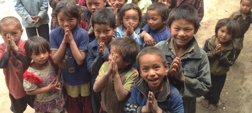 Деловое cотрудничество - Children of Nepal