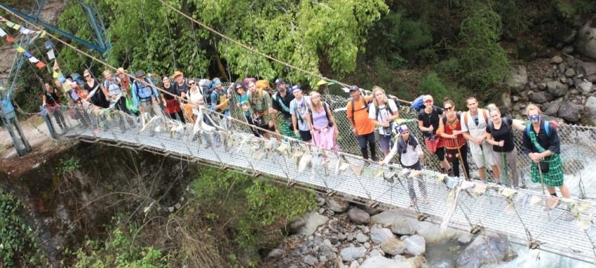 Благотворительные походы - Charity trek Nepal