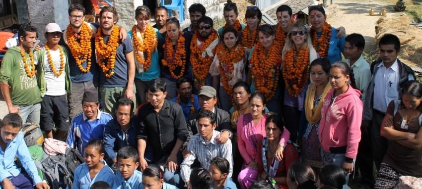 Благотворительный туризм - Philanthropic tourism in Nepal