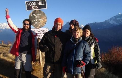 Поход в Гхорепани и на холм Пун