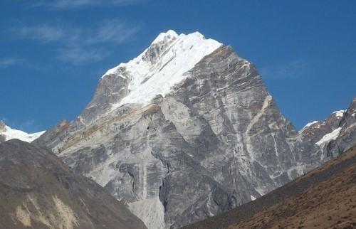 Подъем на восточную вершину Лобуче