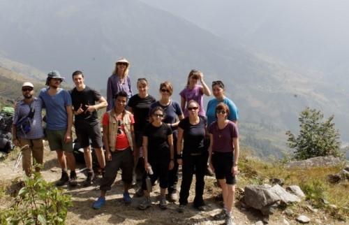Подъем на холм Шивапури (2563 м)