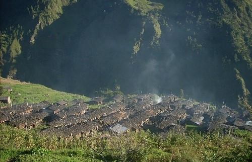 Поход по деревням тамангов