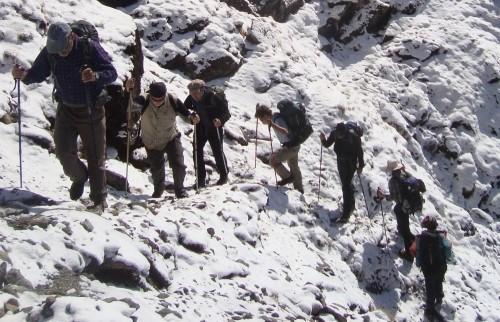 Поход к перевалу Таши-Лапча