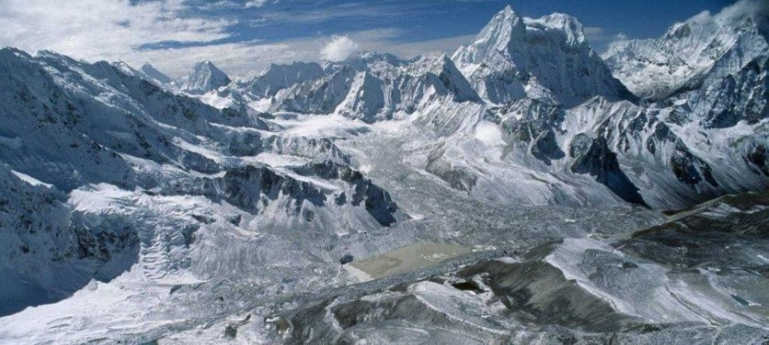 Gokyo lake Trek and Mt Everest panorama - Gokyo Valley Trekking-Everest region Nepal