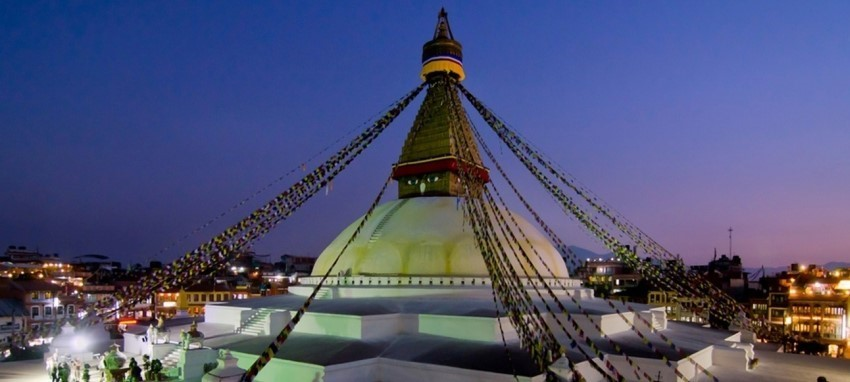One day Buddhism cultural tour -  The Holy Boudhanath stupa Kathmandu Cultural day tour