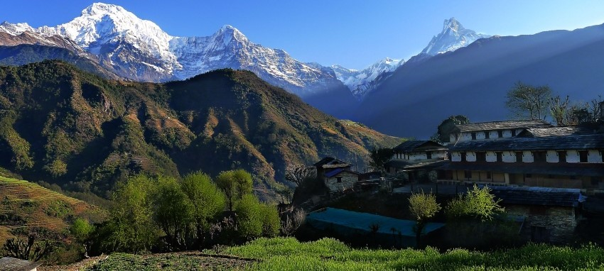 Ghandruk and Hot Spring Trek - Ghandruk village